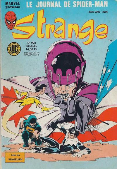Cover for Strange (Editions Lug, 1970 series) #223