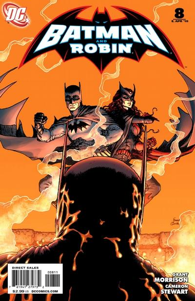 Cover for Batman and Robin (DC, 2009 series) #8