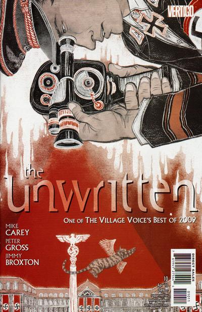 Cover for The Unwritten (DC, 2009 series) #10