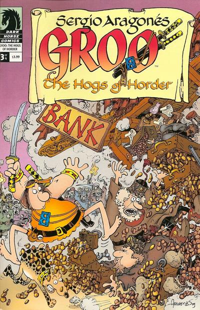 Cover for Sergio Aragonés' Groo: The Hogs of Horder (Dark Horse, 2009 series) #3