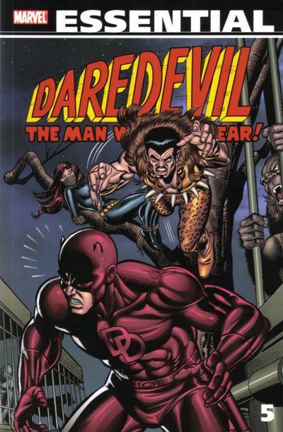 Cover for Essential Daredevil (Marvel, 2002 series) #5