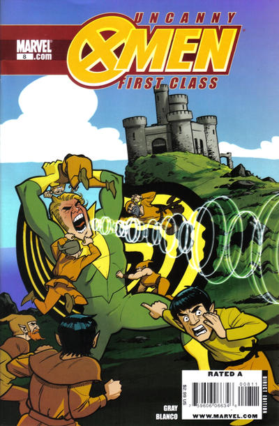 Cover for Uncanny X-Men: First Class (Marvel, 2009 series) #8