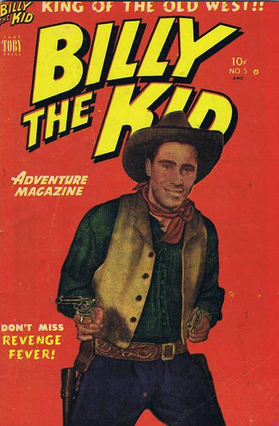 Cover for Billy the Kid (Superior Publishers Limited, 1950 series) #5