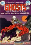 Cover for Ghosts (DC, 1971 series) #22
