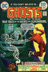 Cover for Ghosts (DC, 1971 series) #25