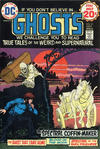 Cover for Ghosts (DC, 1971 series) #31