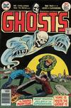 Cover for Ghosts (DC, 1971 series) #50