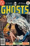 Cover for Ghosts (DC, 1971 series) #53