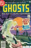 Cover for Ghosts (DC, 1971 series) #57