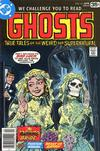 Cover for Ghosts (DC, 1971 series) #63