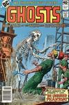 Cover for Ghosts (DC, 1971 series) #81