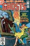Cover for Ghosts (DC, 1971 series) #102 [Direct]