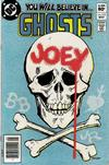Cover for Ghosts (DC, 1971 series) #112 [Newsstand]