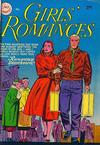 Cover for Girls' Romances (DC, 1950 series) #19