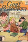 Cover for Girls' Romances (DC, 1950 series) #43