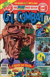 Cover for G.I. Combat (DC, 1957 series) #222 [Newsstand Variant]
