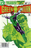 Cover for Green Lantern (DC, 1960 series) #166 [Newsstand]