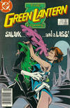 Cover Thumbnail for The Green Lantern Corps (1986 series) #215 [Newsstand Edition]