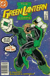 Cover Thumbnail for The Green Lantern Corps (1986 series) #219 [Newsstand Edition]