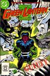Cover for The Green Lantern Corps (DC, 1986 series) #222 [Direct]