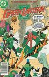 Cover Thumbnail for The Green Lantern Corps (1986 series) #223 [Newsstand Edition]