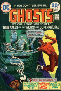 Cover Thumbnail for Ghosts (DC, 1971 series) #25