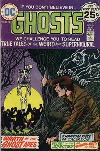 Cover Thumbnail for Ghosts (DC, 1971 series) #34