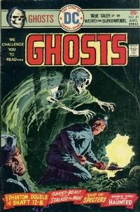Cover Thumbnail for Ghosts (DC, 1971 series) #41