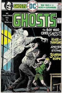 Cover Thumbnail for Ghosts (DC, 1971 series) #43