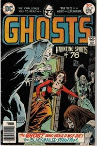 Cover Thumbnail for Ghosts (DC, 1971 series) #51