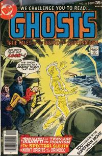 Cover Thumbnail for Ghosts (DC, 1971 series) #56