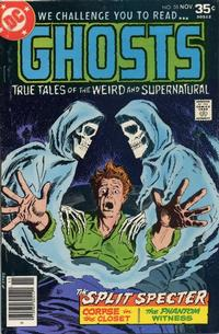 Cover Thumbnail for Ghosts (DC, 1971 series) #58