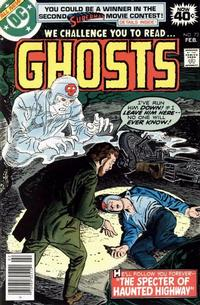 Cover Thumbnail for Ghosts (DC, 1971 series) #73