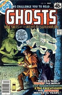 Cover Thumbnail for Ghosts (DC, 1971 series) #74