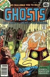 Cover Thumbnail for Ghosts (DC, 1971 series) #77