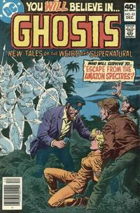 Cover Thumbnail for Ghosts (DC, 1971 series) #83