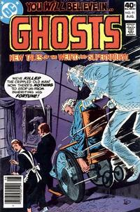 Cover Thumbnail for Ghosts (DC, 1971 series) #91