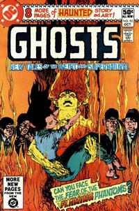 Cover Thumbnail for Ghosts (DC, 1971 series) #93 [Direct]