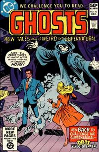 Cover Thumbnail for Ghosts (DC, 1971 series) #95 [Direct]