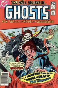Cover Thumbnail for Ghosts (DC, 1971 series) #96 [Newsstand]