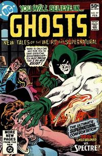 Cover Thumbnail for Ghosts (DC, 1971 series) #97 [Direct]