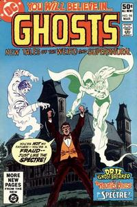 Cover Thumbnail for Ghosts (DC, 1971 series) #98 [Direct]