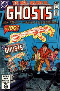 Cover Thumbnail for Ghosts (DC, 1971 series) #100 [Direct]