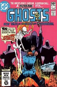 Cover Thumbnail for Ghosts (DC, 1971 series) #101 [Direct]