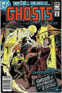 Cover Thumbnail for Ghosts (DC, 1971 series) #104 [Newsstand]