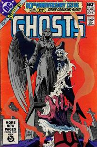 Cover Thumbnail for Ghosts (DC, 1971 series) #105 [Direct]