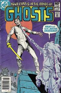 Cover Thumbnail for Ghosts (DC, 1971 series) #106 [Newsstand]