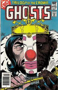 Cover Thumbnail for Ghosts (DC, 1971 series) #107 [Newsstand]