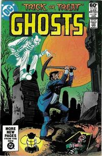 Cover Thumbnail for Ghosts (DC, 1971 series) #108 [Direct]