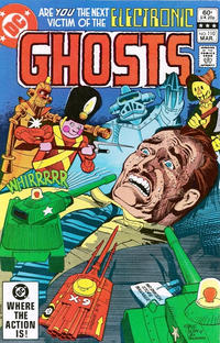 Cover Thumbnail for Ghosts (DC, 1971 series) #110 [Direct]